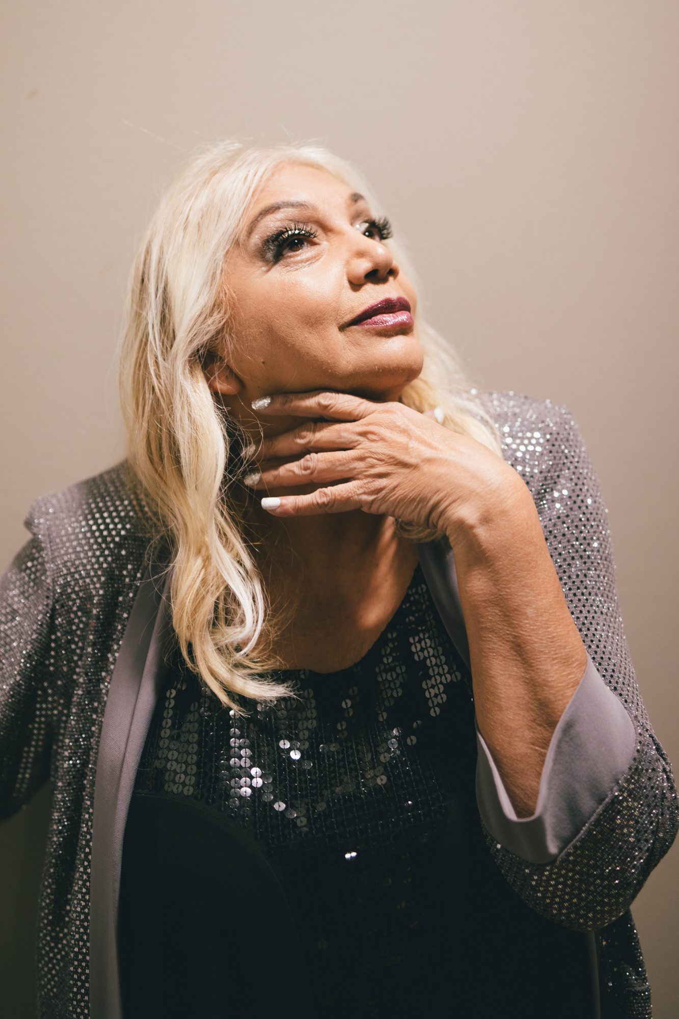 Photo series: Asha Puthli's rare performance at LGW19, captured backstage and onstage by Melanie Marsman