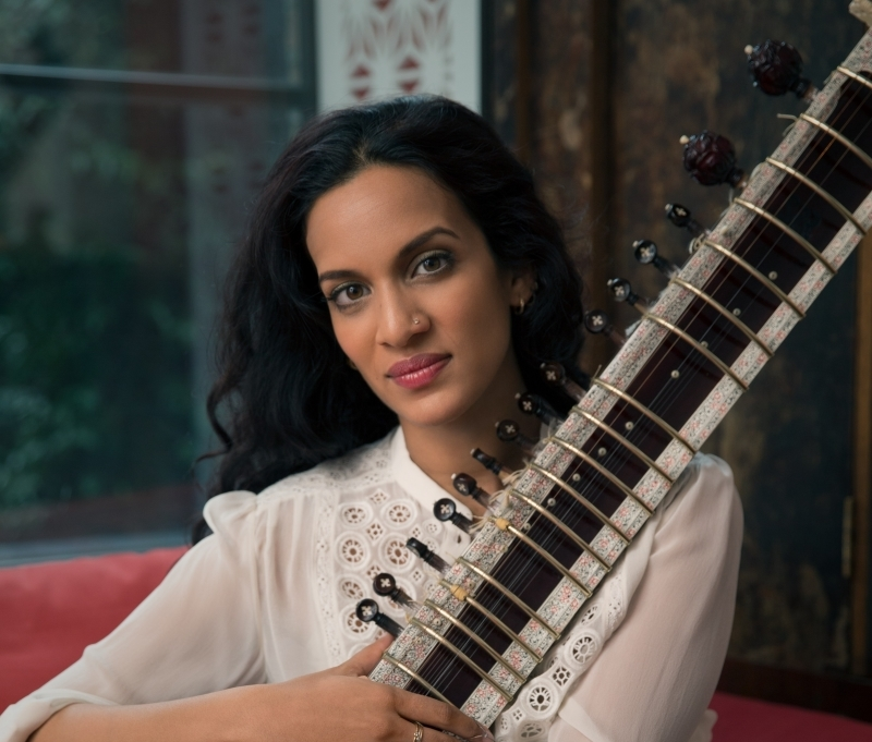 "Read: Anoushka Shankar on ""creating her own feminist voice with her sitar"""