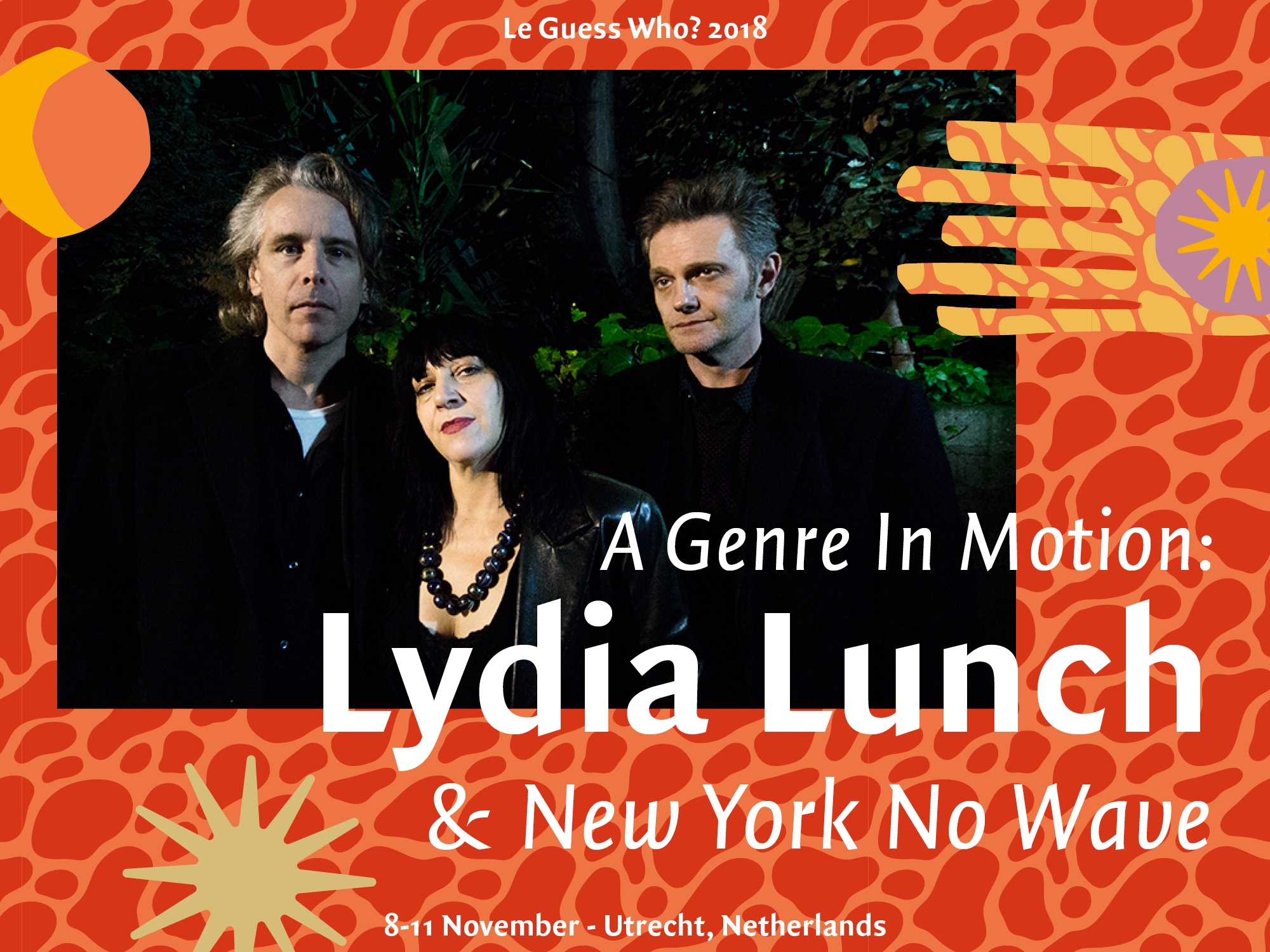 A Genre In Motion: Lydia Lunch & New York No Wave