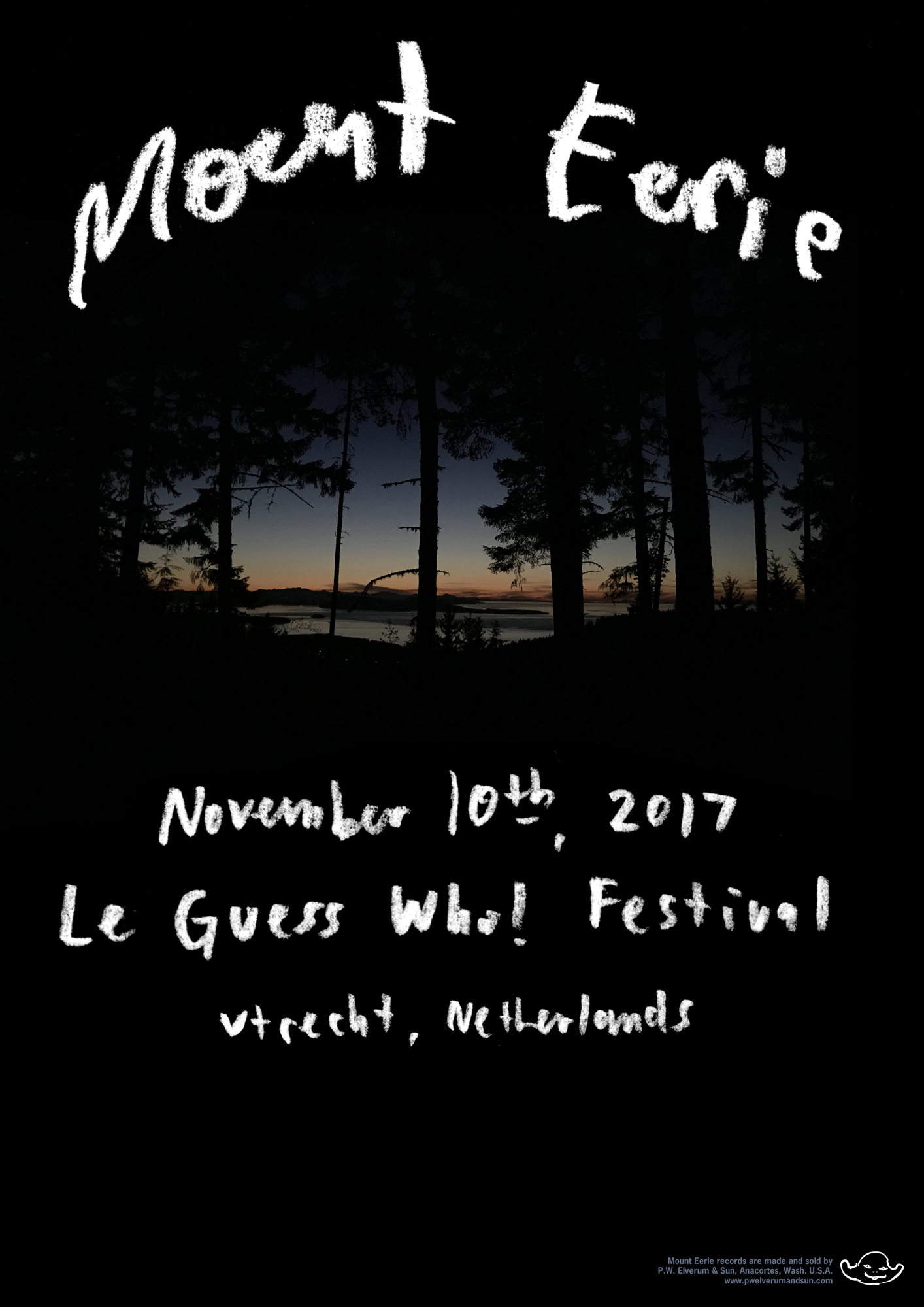 Important info about Mount Eerie's performance at Le Guess Who? 2017